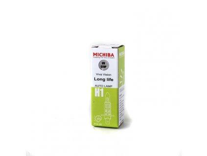 Halogenová žárovka MICHIBA, H1 Long Life, 1ks MA H1 LLd