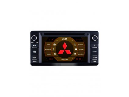 2din android autoradio mitsubishi s wifi dvd usb a gps os android 80