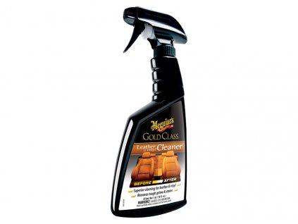 Meguiar's Gold Class Leather & Vinyl Cleaner - extra účinný čistič na přírodní i umělou kůži, 473 ml G18516