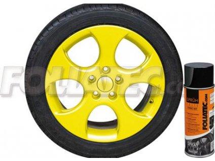 2051 foliatec folie na kola zluta leskla tn1