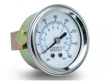 VIAIR ukazatel tlaku 2 jednoruckovy bily podsviceny 2019712121351