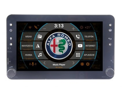 Autorádio 2DIN Android 9.0 - Alfa Romeo