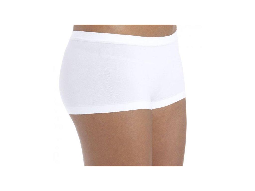 0748144077a 2pack spodní kalhotky bílé bezešvé - NemamCoNaSebe.cz