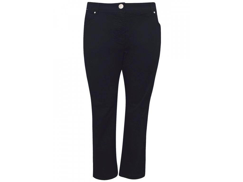 Dámské černé plátěné kalhoty C A - NemamCoNaSebe.cz a28399ce4b