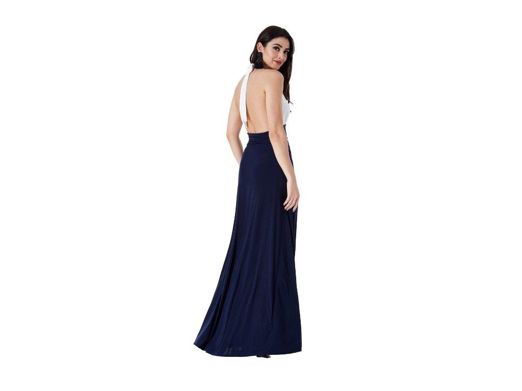 Maxi dlouhé plesové šaty Marilyn holá záda - NemamCoNaSebe.cz f096c081a9