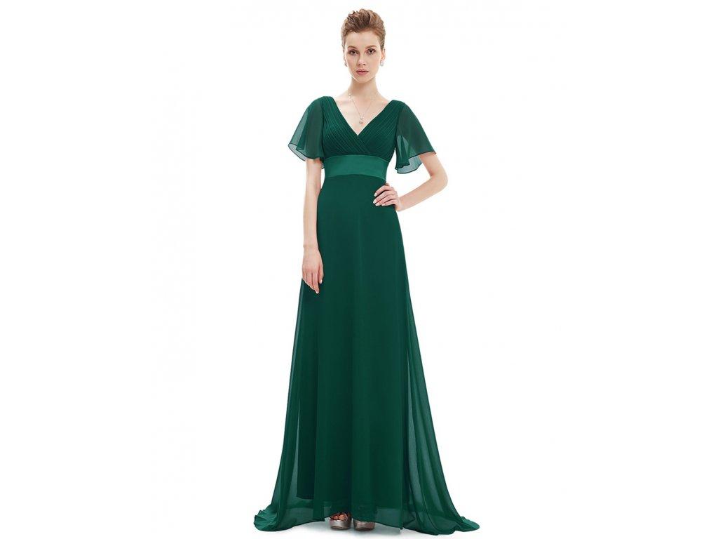 Dlouhé zelené společenské plesové šaty 42 Ever Pretty - NemamCoNaSebe.cz 6630f523adf