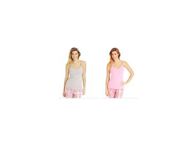 2pack dámská spodní košilka / 2 tílka