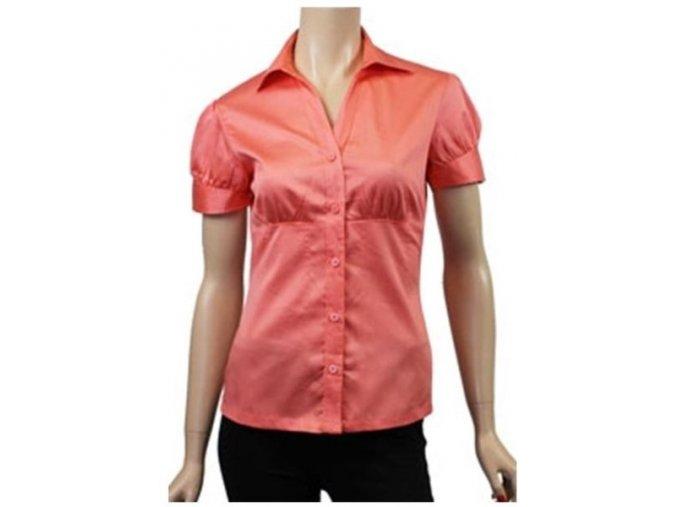 košile, oranžová