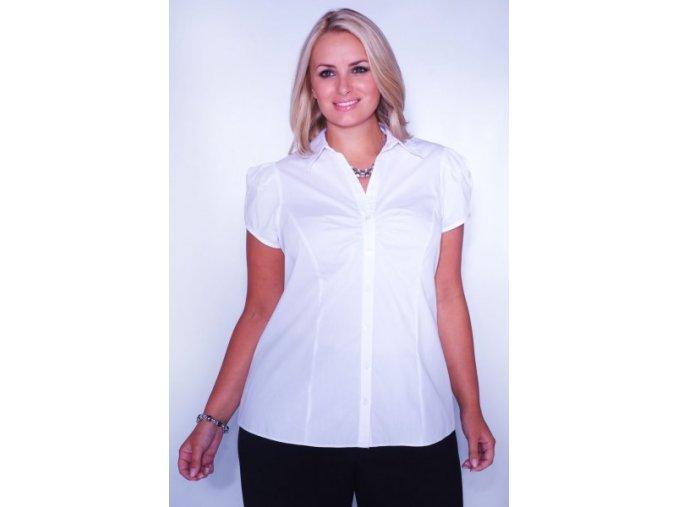 bílá halenka - košile