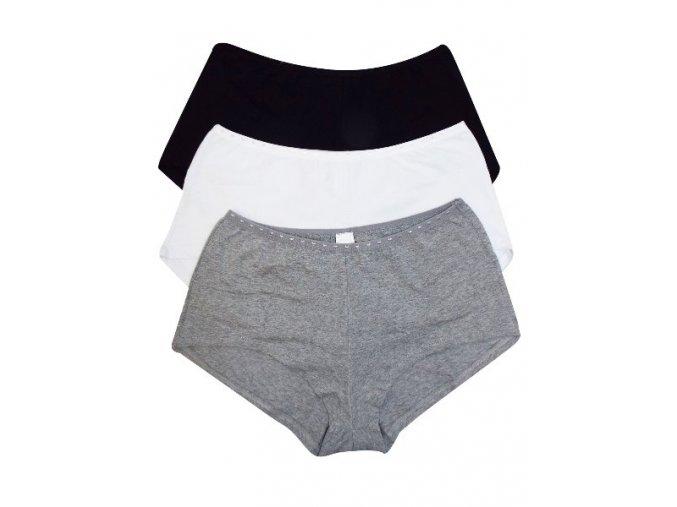 3pack dámské spodní kalhotky