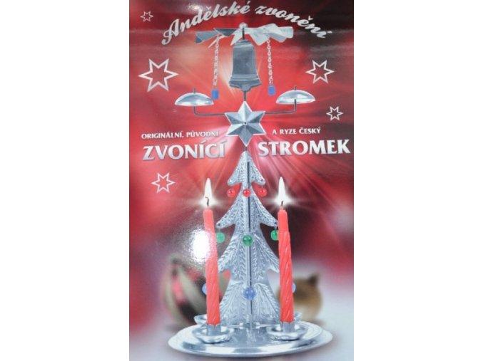 Andělské zvonění / Cinkací stromeček stříbrný / ORIGINÁL
