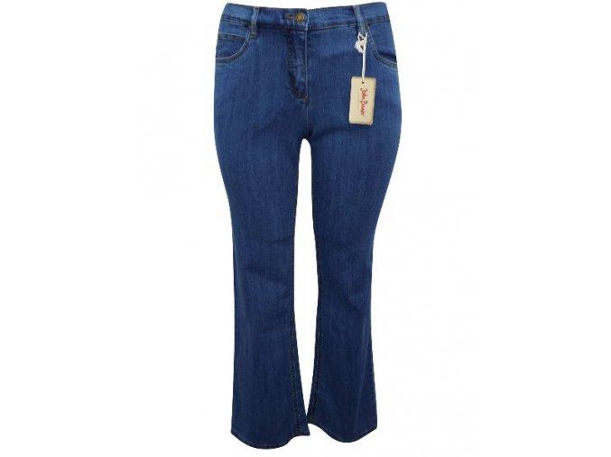 modré rifle džíny