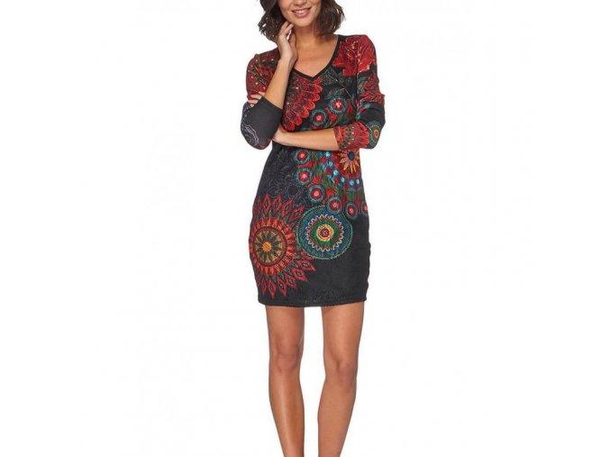 wholesale bulk prices dress tunic lace ethnic geometric winter 101 (6)
