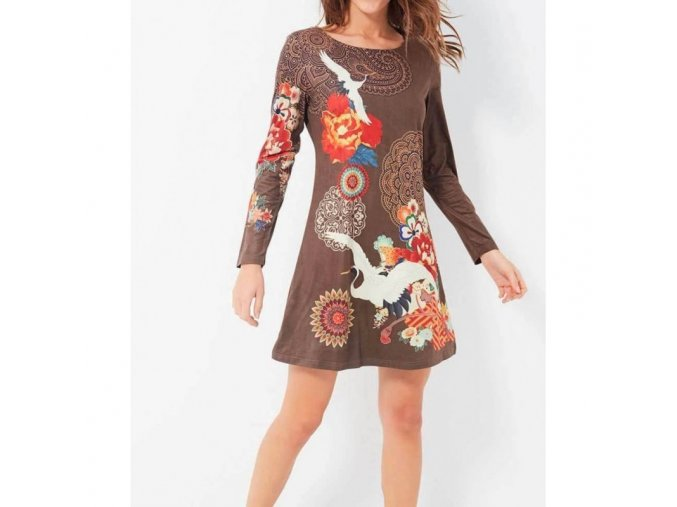 buy clothes in bulk dress tunic suede ethnic floral 101 idees 394z (2)