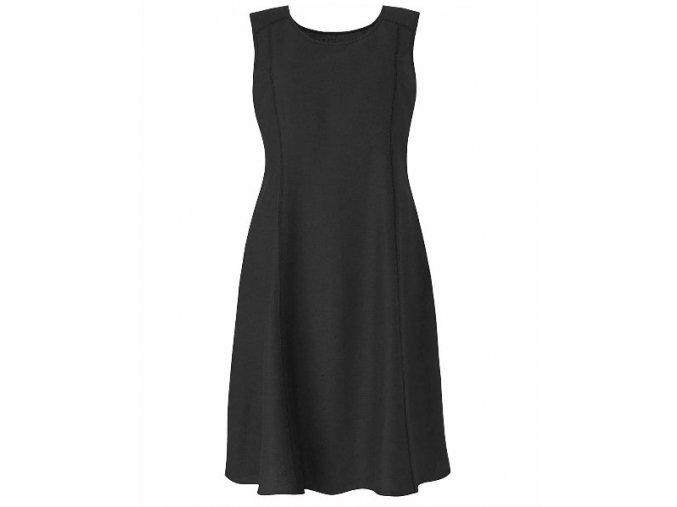 černé krátké šaty koktejlky