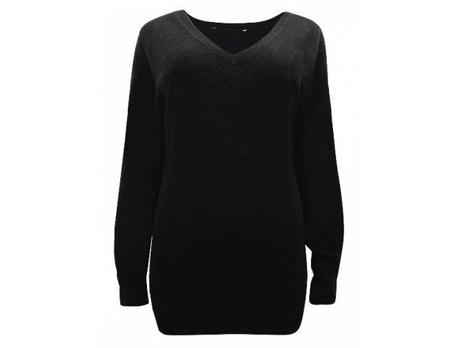 Dámský černý svetr