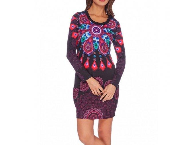 dress tunic print mid season 101 idees 401l