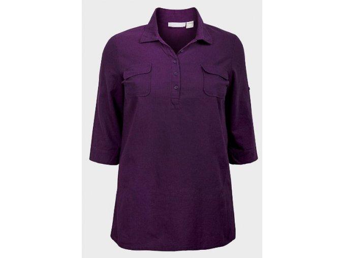 fialová košile