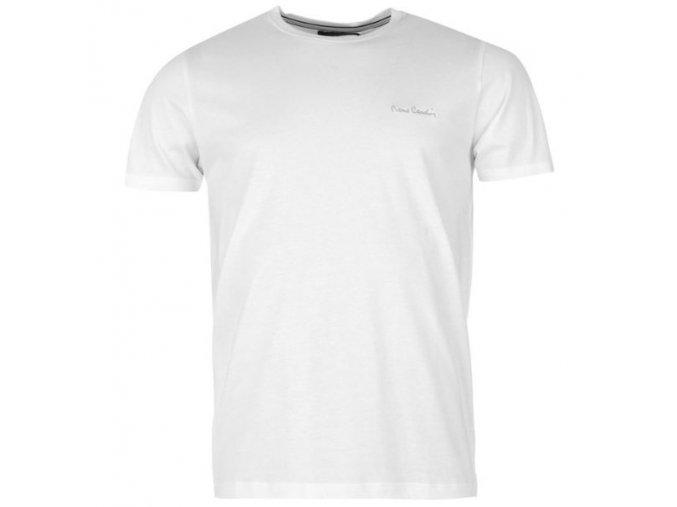 bílé triko Pierre Cardin