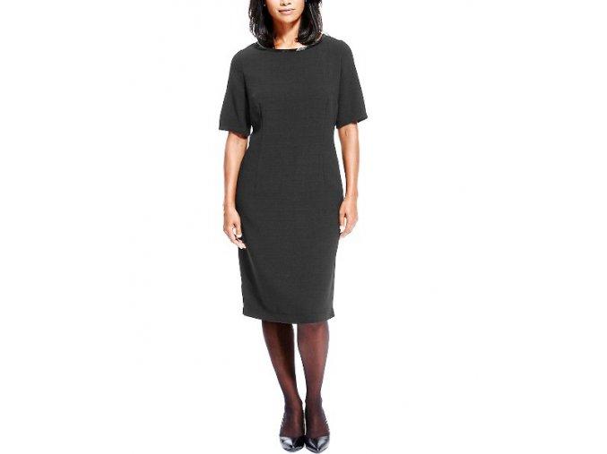 černé společenské šaty koktejlky