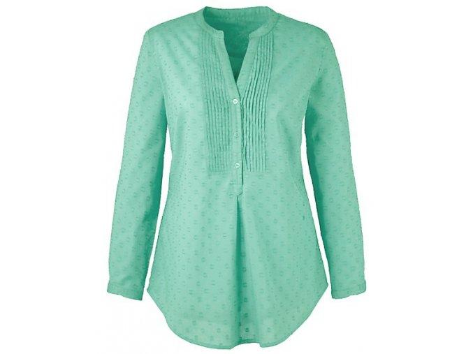 zelená košile - halenka