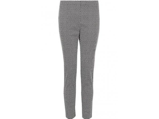 černo-bílé kalhoty
