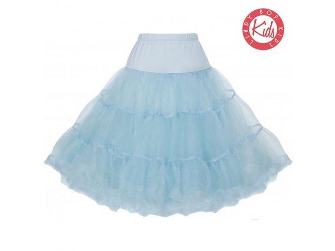 tutu sukně modrá