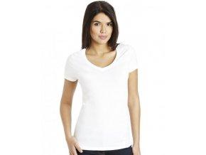 bílé tričko krátký rukáv