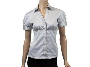 vypasovaná košile , krémová