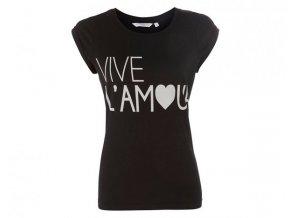 černé tričko L´Amour