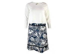 Tričko + plátěná sukně