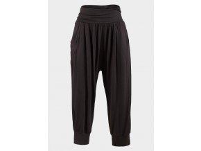 Černé harémové kalhoty