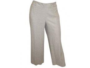 letní světle šedé kalhoty