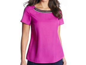 fialová halenka košile