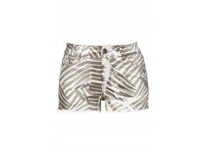 letní pružné kraťasy šortky zebra velikost