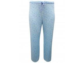 pyžamové kalhoty modré