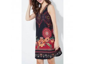 wholesale women s boutique clothing dress tunic ethnic floral print