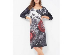 clothing suppliers dress plus size print winter 101 idees