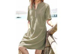 109e7dfad6 Košilové safari šaty se lnem. Skladem (3) Značka  Cellbes