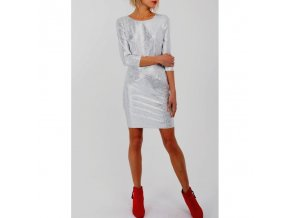 resale dress silver chic lucy 1450pr