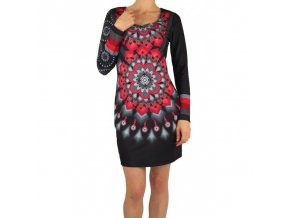 dress tunic print mid season 101 idees 402vc