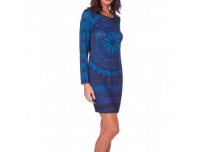 dress tunic print mid season 101 idees 408a