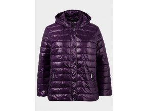 ljac0278pru balsamik lds plus size quilted hooded padded jacket 1