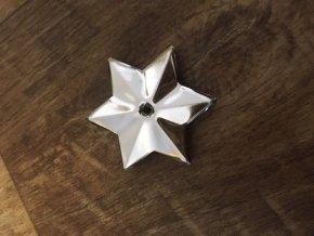 Hvězda stříbrná - náhradní díl k Andělskému zvonění