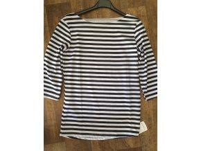 Dámské pruhované námořnické tričko vel. 38 až 40