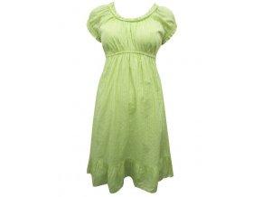 gotické zelené šaty
