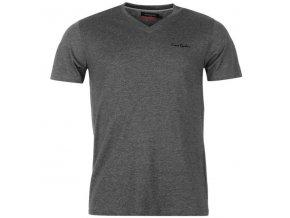 tmavě šedé triko Pierre Cardin