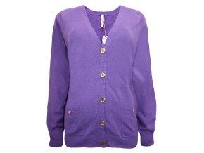 světle fialový svetr Marisota