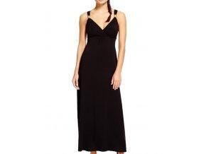Černé plesové šaty