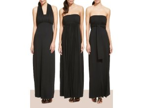 Černé šaty 3v1